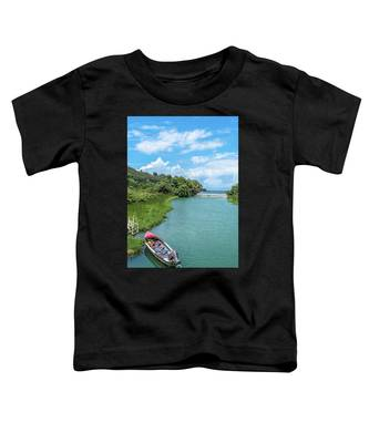 Tour Boat In Jamaica Toddler T-Shirt