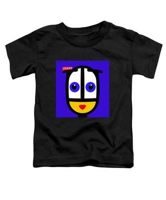 Ubabe Blue Toddler T-Shirt