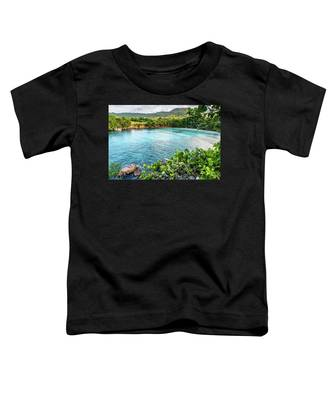 Vantage Views In Portland Jamaica Toddler T-Shirt