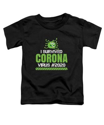 Corona Virus Toddler T-Shirts