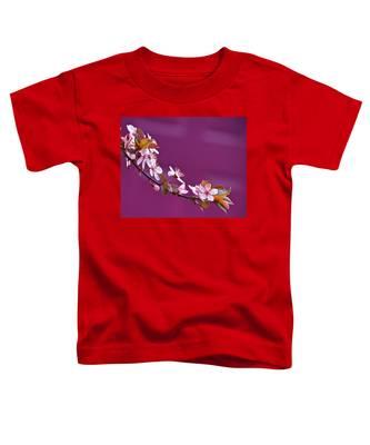 Cherry Blossoms And Plum Door Toddler T-Shirt