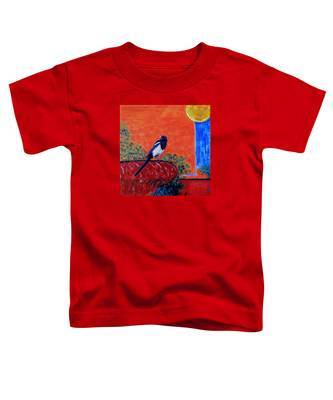 Magpie Singing At The Bath Toddler T-Shirt
