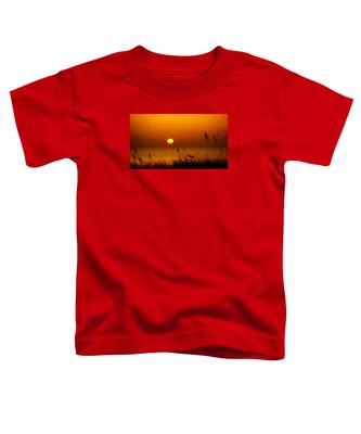 Sunrise Sea Oats Toddler T-Shirt