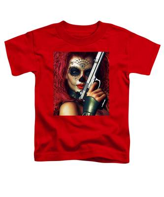 Sugar Doll Long Night Of The Dead Toddler T-Shirt
