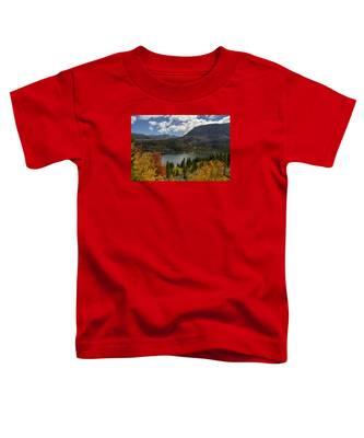 Autumn At Rock Creek Lake Toddler T-Shirt