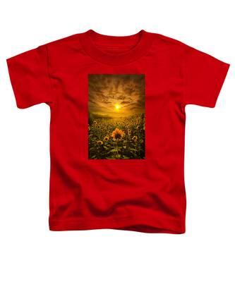 I Believe In New Beginnings Toddler T-Shirt
