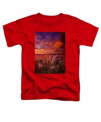 I Spoke To God Today Toddler T-Shirt