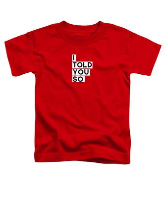 Red Toddler T-Shirts