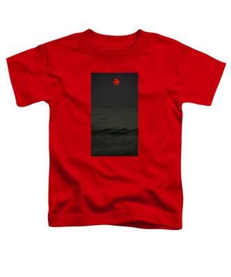 Orange Onyx Sunrise Toddler T-Shirt