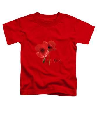 Poppy Reverie Toddler T-Shirt