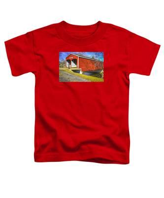 Roberts Covered Bridge Toddler T-Shirt