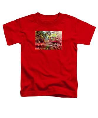 Rocky Rainbow River Toddler T-Shirt