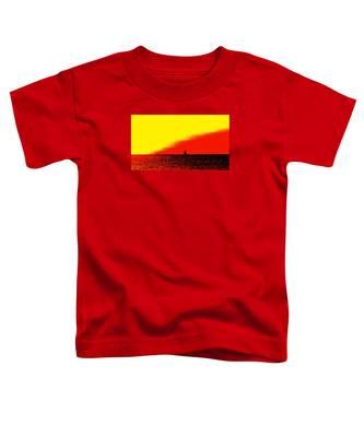 Sailboat Horizon Poster Toddler T-Shirt