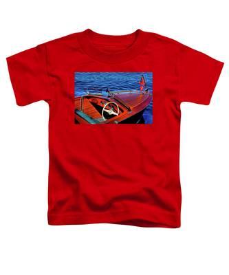 The 1958 Chris Craft Toddler T-Shirt