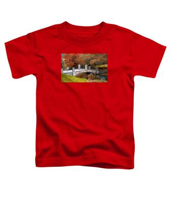 The Bridge To Autumn By Mike Hope Toddler T-Shirt