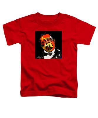 tribute to BB King reworked Toddler T-Shirt