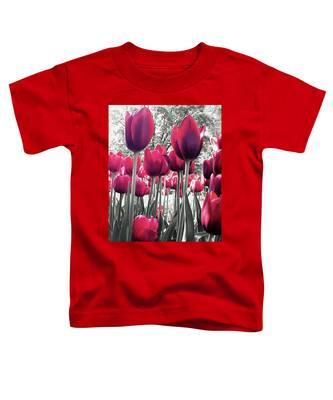 Tulips Tinted Toddler T-Shirt
