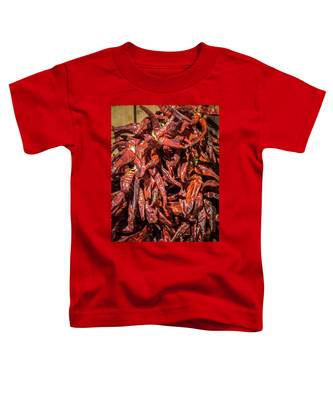 Hot Spicy Peppers Toddler T-Shirt