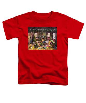 The Micey Christmas Heisty Toddler T-Shirt