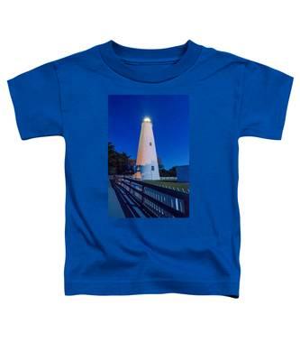 The Ocracoke Lighthouse On Ocracoke Island On The North Carolina Toddler T-Shirt