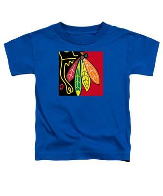 Chicago Blackhawks 2 Toddler T-Shirt