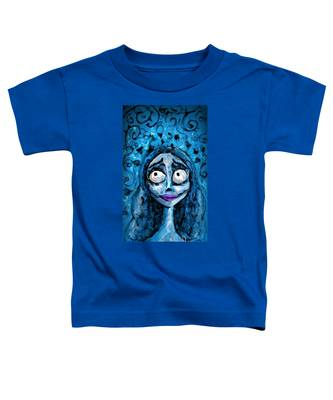 Corpse Bride Phone Sketch Toddler T-Shirt