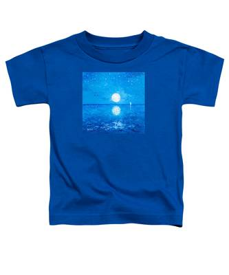 Moon And Stars Toddler T-Shirt