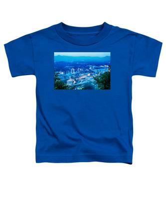 Scenics Around Mill Mountain Roanoke Virginia Usa Toddler T-Shirt