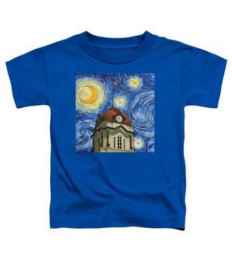 Van Gogh Courthouse Toddler T-Shirt