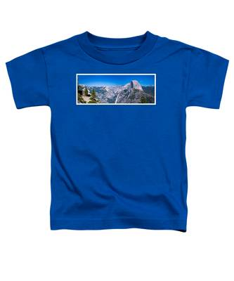 Yosemite Valley From Glacier Point Toddler T-Shirt