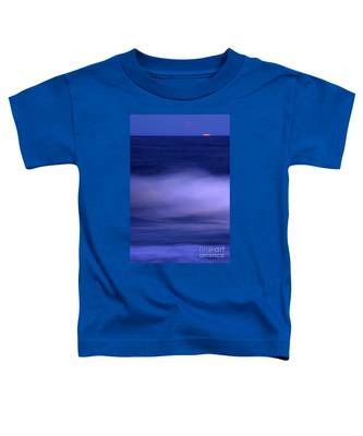 The Red Moon And The Sea Toddler T-Shirt