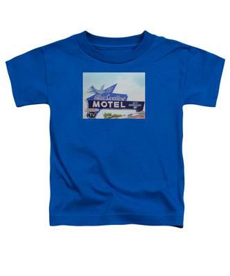 Blue Swallow Toddler T-Shirt
