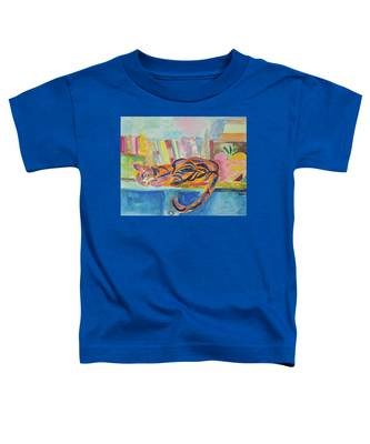 Cat Nap Toddler T-Shirt