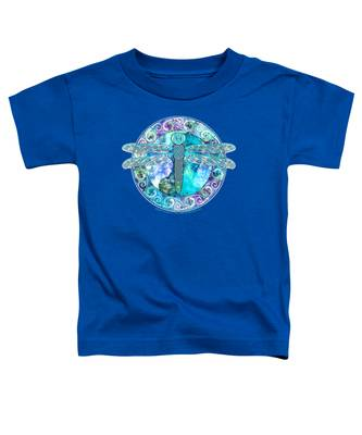 Cool Celtic Dragonfly Toddler T-Shirt