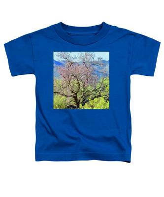 Toddler T-Shirt featuring the photograph Desert Ironwood Beauty by Judy Kennedy