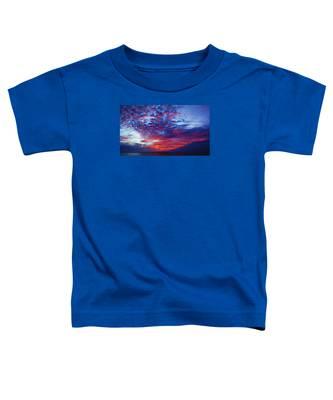 Hand Of God At Sunrise Toddler T-Shirt