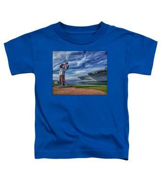 San Diego Sailor Toddler T-Shirt
