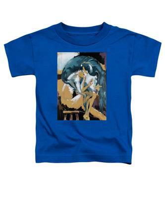 Self Reflection - Of A Dancer Toddler T-Shirt