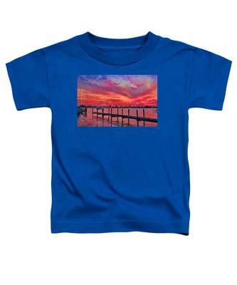 Sunset Impressionism Toddler T-Shirt