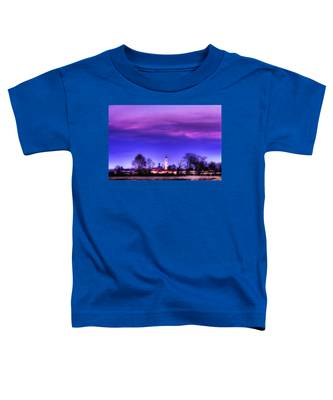 View Of San Giorgio Lomellina Toddler T-Shirt