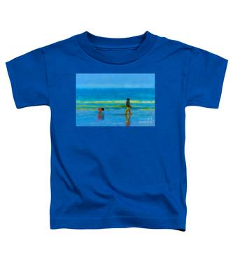 Beach Blues Toddler T-Shirt