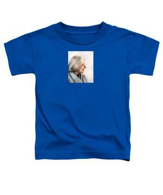 Woman In Grey Toddler T-Shirt