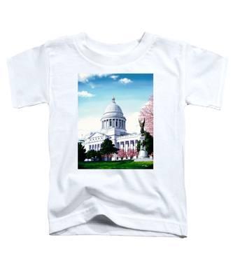 Arkansas Capitol Blossoms Toddler T-Shirt