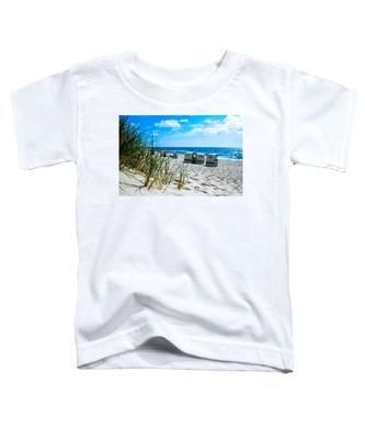 Behind The Dunes -light Toddler T-Shirt