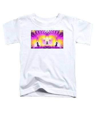 Toddler T-Shirt featuring the digital art Cosmic Spiral Ascension 59 by Derek Gedney