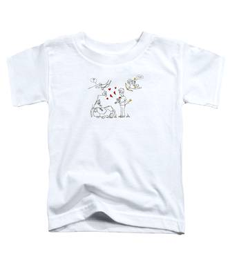 Cupid Valentines Toddler T-Shirt