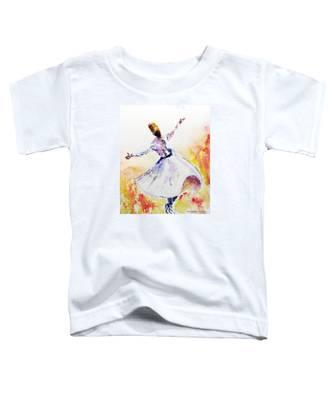 Whirling Sufi Dervish Toddler T-Shirt
