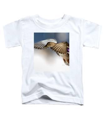 Flight Of The Mallard Toddler T-Shirt