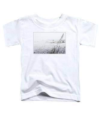 Foggy Beach Toddler T-Shirt