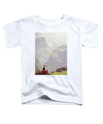 High In The Mountains Toddler T-Shirt